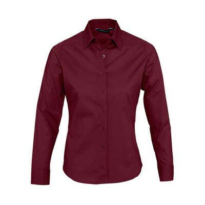 темно-красная рубашка