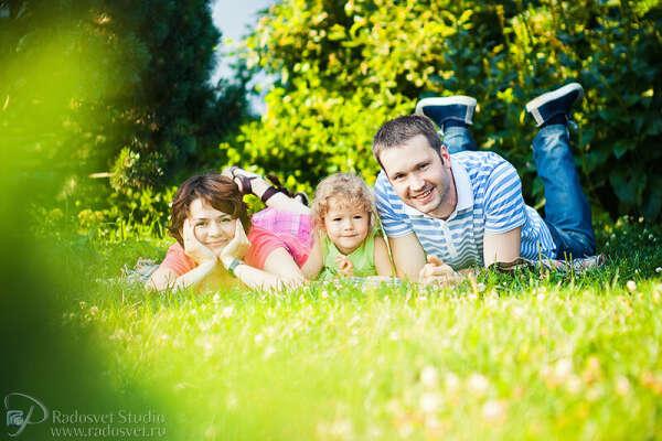 Семейную фотосессию