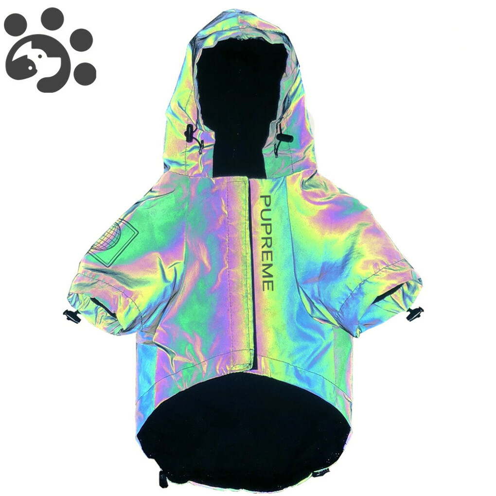 1302.27руб. 40% СКИДКА|Модная одежда для собак, мигающая Толстовка для собак, пальто для собак, ветровка, светоотражающая Одежда для больших и маленьких собак, куртка для щенков, Мопсов|Пальто и куртки для собак|   | АлиЭкспресс