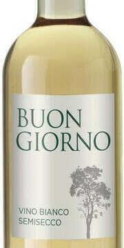 """мое любимое Вино """"Buon Giorno"""" Bianco Semisecco"""