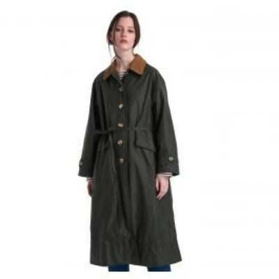Barbour by ALEXACHUNG Maisie Waxed Cotton Jacket