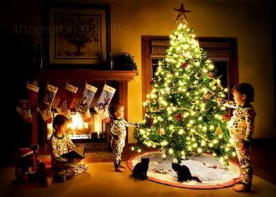 Хочу, чтобы Новый Год принес Много счастья