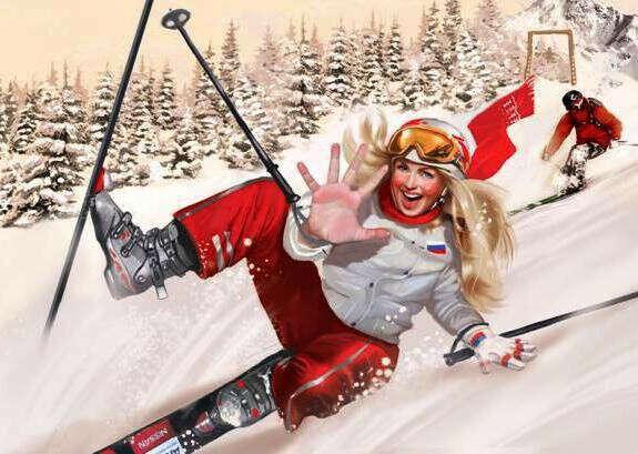 кататься на горных лыжах