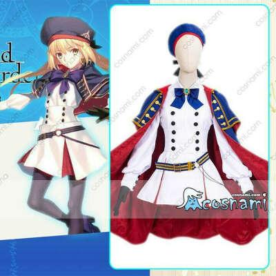 FateGO キャスター アルトリア・ペンドラゴン コスプレ衣装 FGO コスチューム cosplay 送料無料