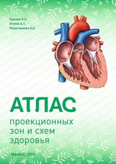 Атлас проекционных зон и схем здоровья