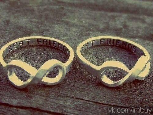 Колечки для лучших подруг
