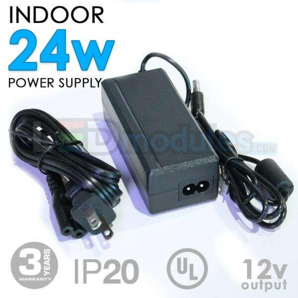 12V 24W Indoor Power Supply