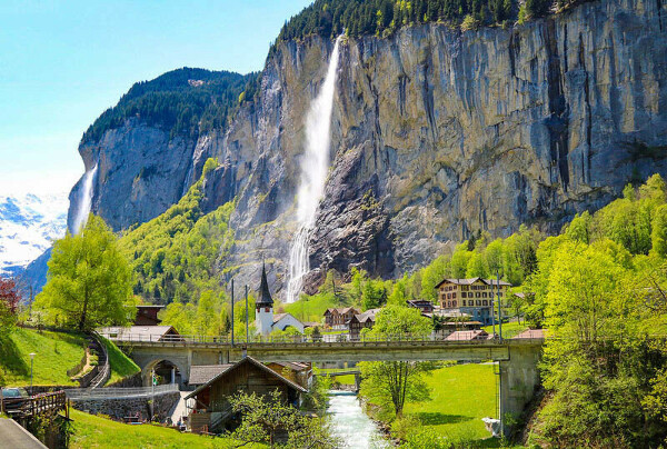Лаутербруннен (Lauterbrunnen), Швейцария