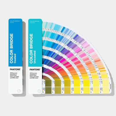 Pantone Color Bridge Guide Set - Coated & Uncoated