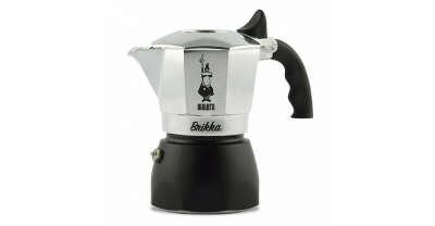 Гейзерная кофеварка Bialetti Brikka с клапаном для пенки в официальном интернет-магазине Bialetti