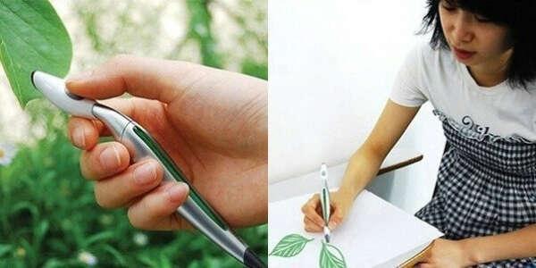 Сканирующая цвета ручка.