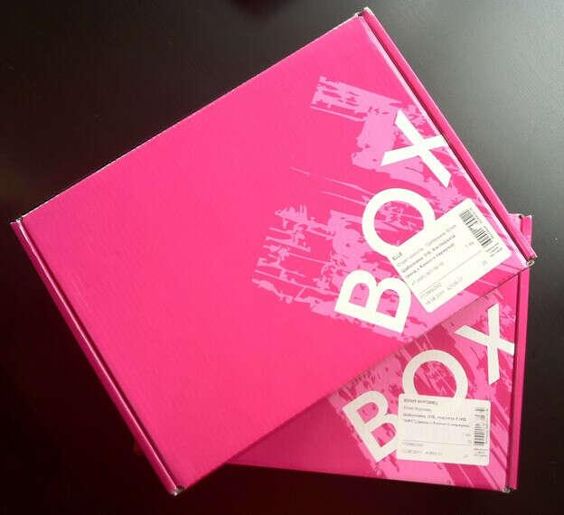 коробка Glambox