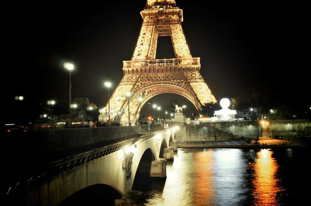 Погулять по ночному Парижу