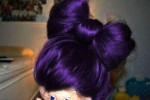 Покрасится в фиолетовый
