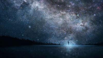 Провести ночь смотря на звездное небо