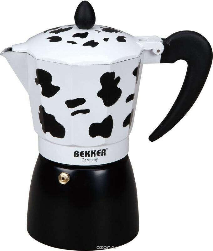 Кофеварка  450мл Объем 450 мл. Стенка 1,6мм, корпус цв. ручка пластмассовая   Посуда для чая и кофе