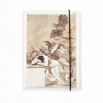 Блокнот на резинке «Франсиско Гойя. Сон разума рождает чудовищ» (большой)