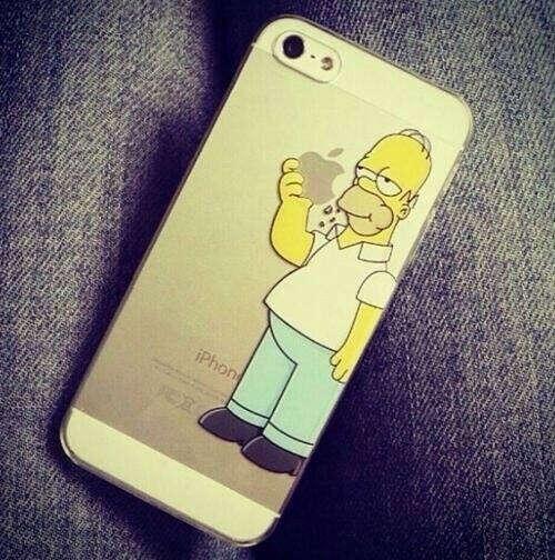 чехол с Гомером
