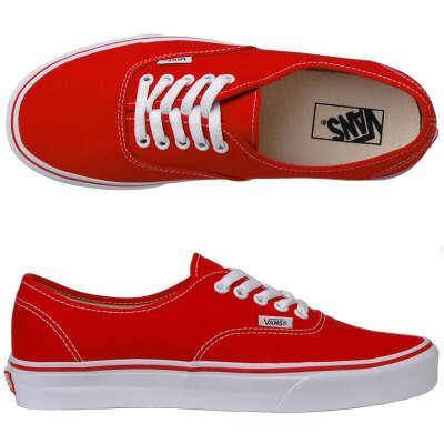 Красные Vans