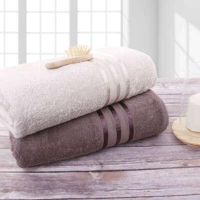 Мягкое большое полотенце