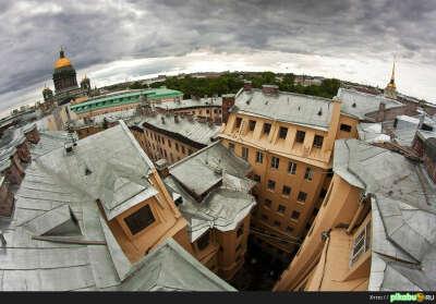 Погулять по крышам Питера