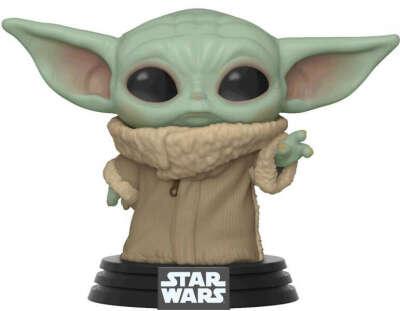 Фигурка Funko POP: Star Wars The Mandalorian – The Child Bobble-Head (9,5 см)