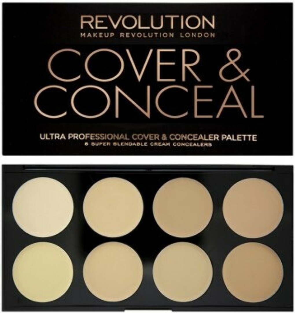 Консилер для лица - Makeup Revolution Ultra Cover and Conceal Palette