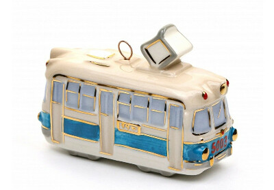 "Елочная игрушка""Трамвай""."