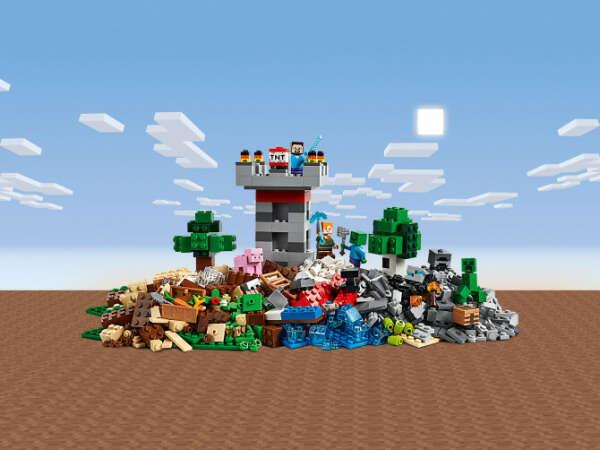 Конструктор Minecraft (Майнкрафт) 21161 Набор для творчества 3.0 LEGO® (ЛЕГО) - купить в Сети сертифицированных магазинов LEGO, Москва