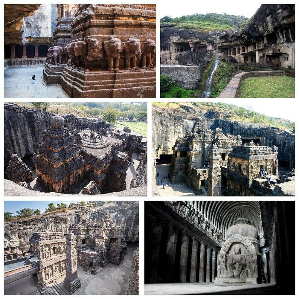 Пещеры Эллоры (Индия)