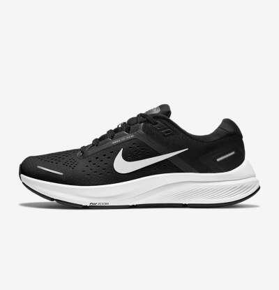 Женские Nike Air Zoom Structure 23, черные 9us