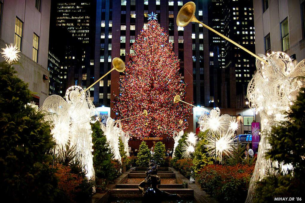 Побывать в Нью-Йорке на Рождество