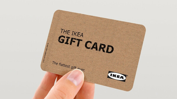 Виртуальная подарочная карта IKEA