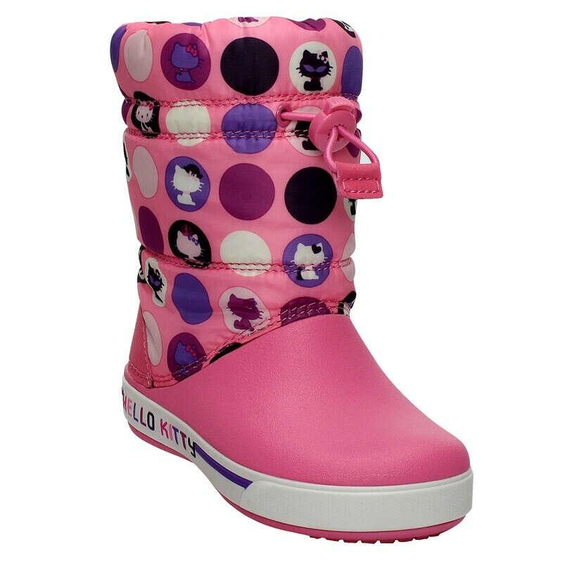 Сапоги (12945-6G6)  - Сапоги - Crocs - детская обувь, купить в интернет магазине детской обуви КИДМАКС!