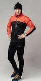 Мужской беговой костюм Nordski Active Base red | Интернет-магазин Five-sport