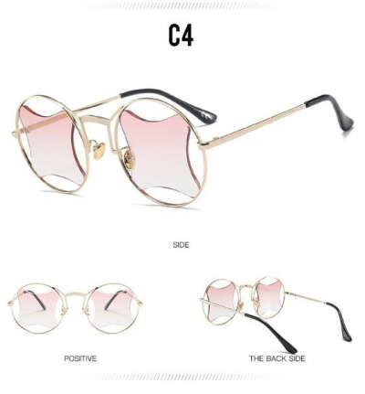 Очки с розовыми стёклами