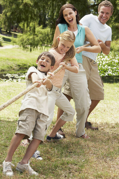 Здоровую счастливую спортивную  крепкую семью