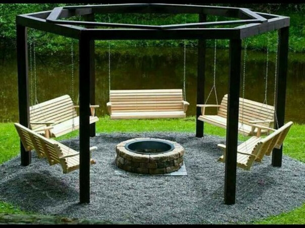Устроить на даче уютный уголок для отдыха