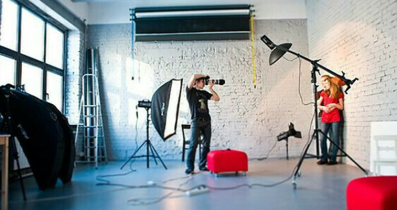 Практика в фотостудии
