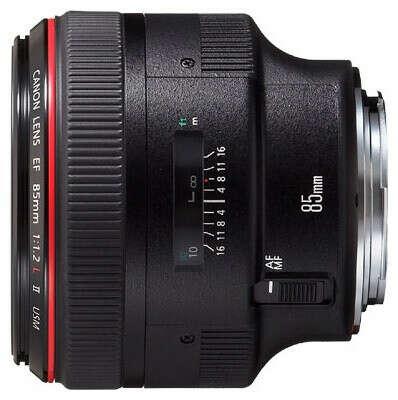 CanonEF 85mm f/1.2L II USM