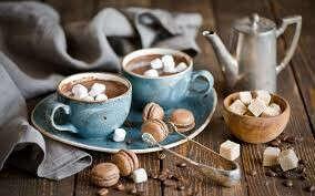 Душевная беседа за чашечкой кофе