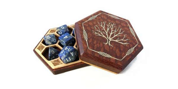 Hex Chest Elite Series Dice Box – Elderwood Academy