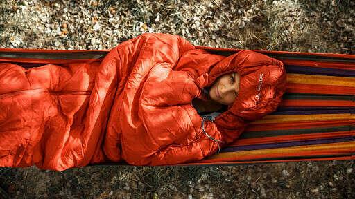теплый спальник на -5