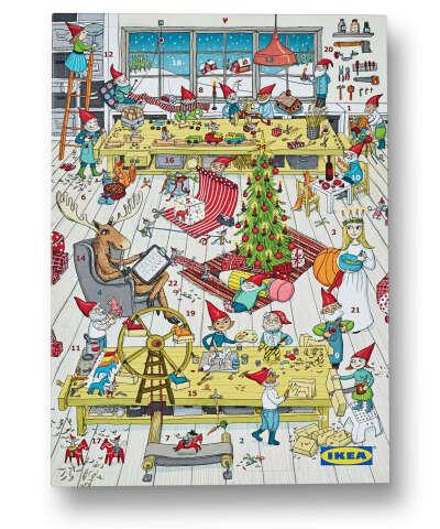 Рождественский календарь -ожидание самого волшебногопраздника!
