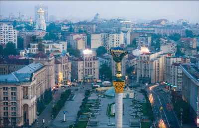 Посетить Киев