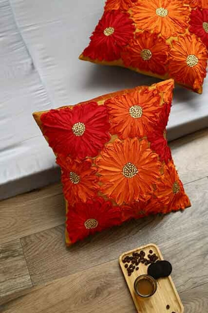 My Orange Corner Cushion Cover