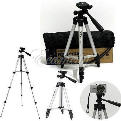 "WT3110A 40"" Aluminum Tripod Stand for CAMCORDER & Camera DSLR Canon Nikon Sony"