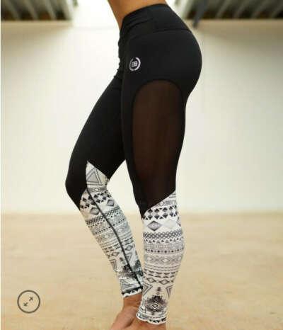 Athena Maori Leggings