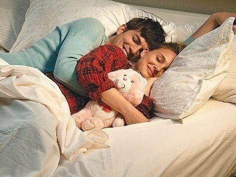 Засыпать в объятиях любимого человека
