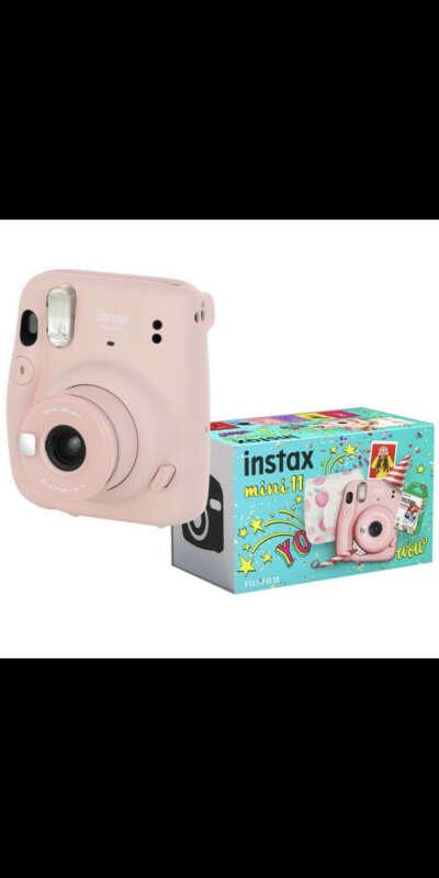 Фотоаппарат моментальной печати Fujifilm Instax Mini 11 Pink